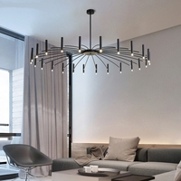 LED Chandeliers Nordic Living Room Bedroom Restaurant LED Pendant Lamps Foyer Light Home Deco Hanging Lights Fixture Luminaire
