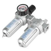 G1/2 Air Compressor Filter Oil Water Separator High Regulator Gauge Trap