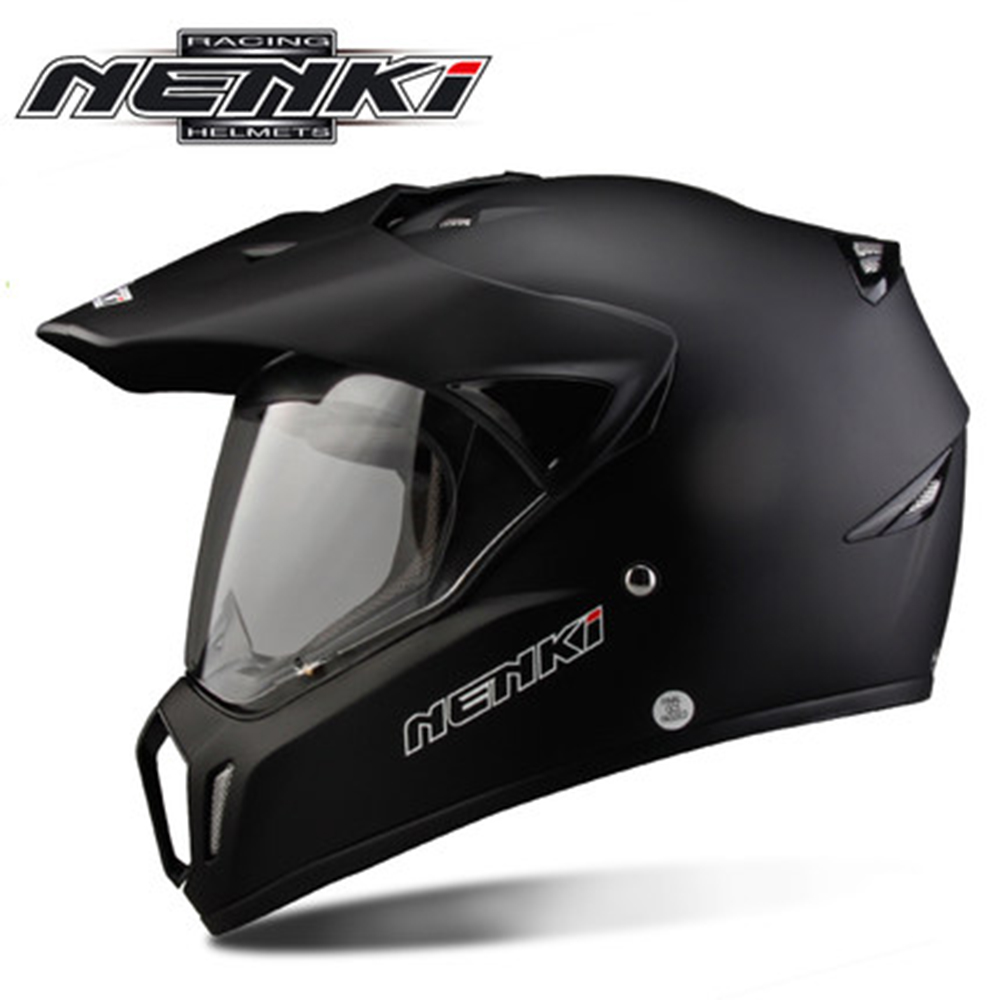 NENKI Motorcycle Helmet Moto Racing Helmet Cross Helmet Capacetes Full Face Motorcycle Adult Motocross Off Road Moto Helmet 310