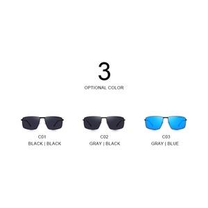 Image 4 - MERRYS DESIGN Men Classic Rectangle Sunglasses Aviation Frame HD Polarized Sunglasses For Men Driving UV400 Protection S8283