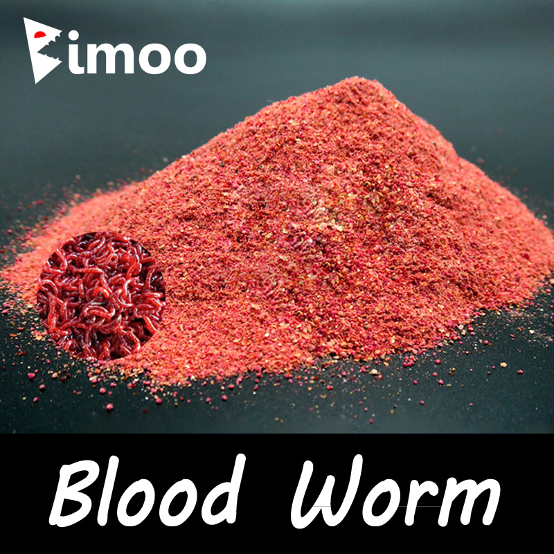 Bimoo 1 Bag 40g Blood Worm Flavor Additive Carp Fishing Feeder Bait Boillie Making Material