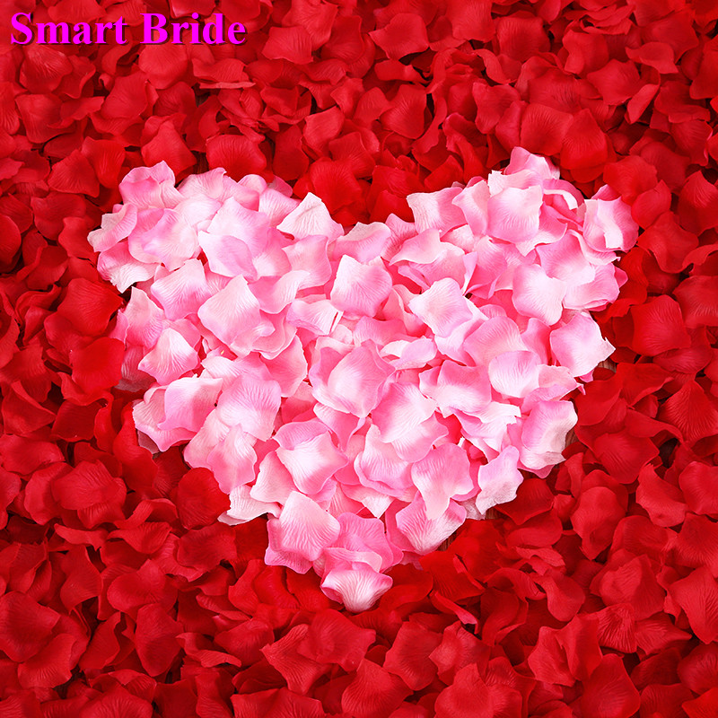Wedding Rose Petals Red Pink White 2020 Petal Flower Party Decoration Accessories De Mariage Petale De Rose Marriage 1000 Pcs