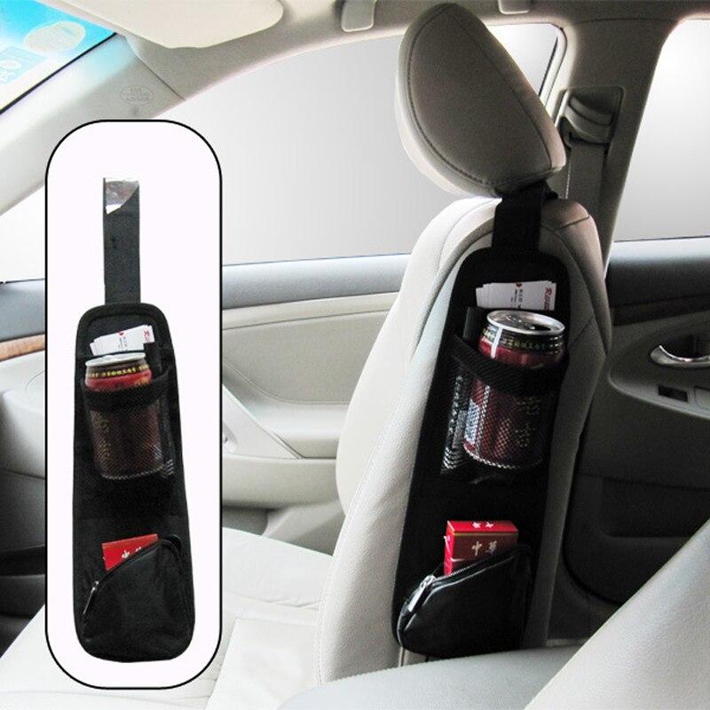 2017 new design Car seat storage bag debris case side pocket Side 3 color
