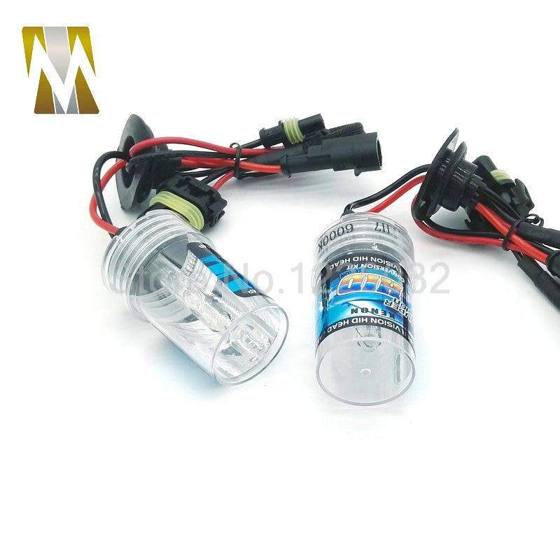2pcs 55w H7 HID Xenon bulb Car Headlight Replacement Lamps 6000k 4300k 8000k H8 H11 H1 9005 9006 D2S xenon Headlamp source 12V