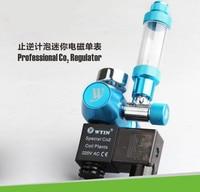 CO2 Set Pressure Reducing Meter Carbon Dioxide Counter Bubble Gauge Mini Electromagnetic Single Meter W01 03