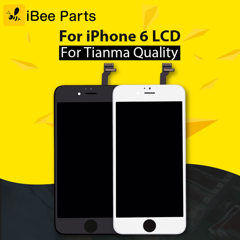 iBee Parts 10pcs for tianma AAA Best Quality For iPhone 6 LCD + High coply touch