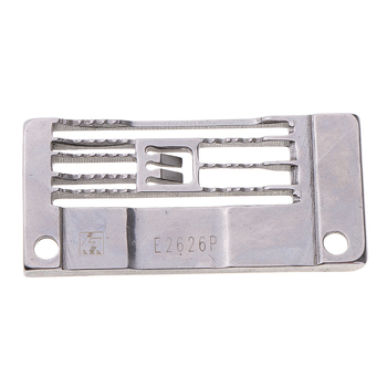 High Quality E2626P Industrial Sewing Machine Needle Plate for Brother Singer Siruba Taiko image