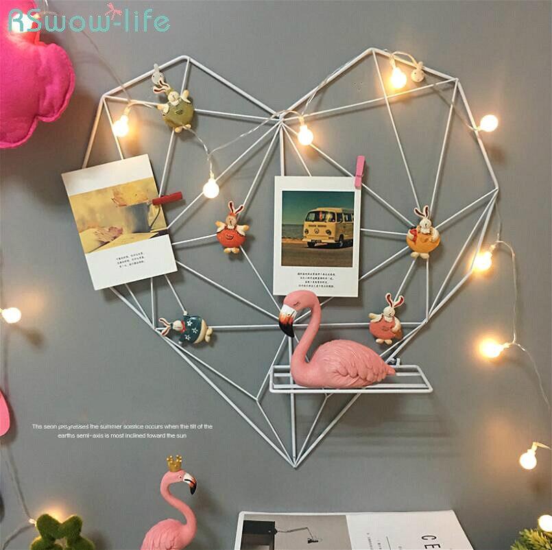 Bricolage Cadre décoration Murale Pour Salon cadres muraux Pour Salon amour grille Photo décoration Murale Cadre Pour Placement de bureau