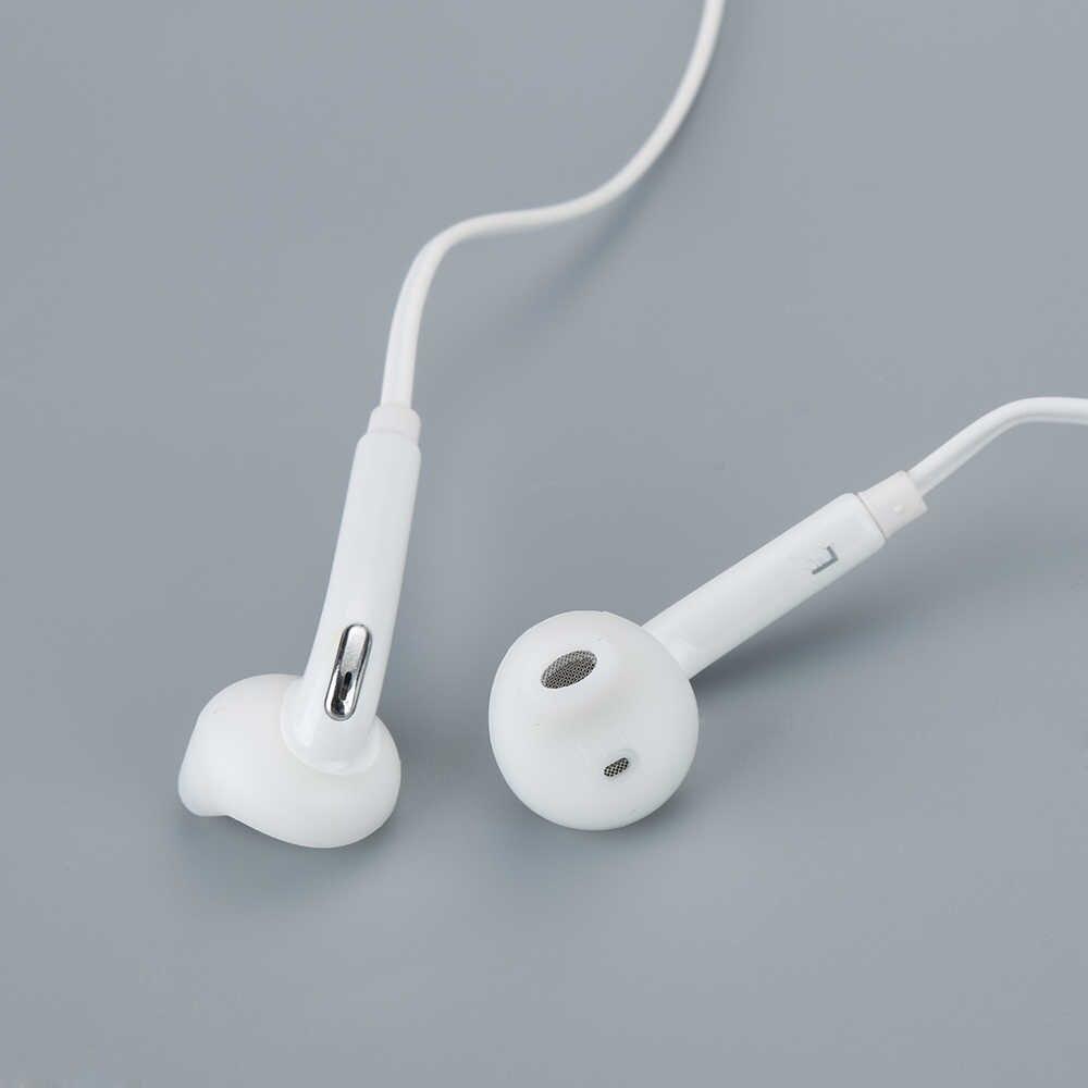 הכי חדש 3.5mm בתוך אוזן אוזניות סטריאו Wired אוזניות אוזניות באיכות גבוהה Wired אוזן חתיכות עבור iphone כל טלפון חכם