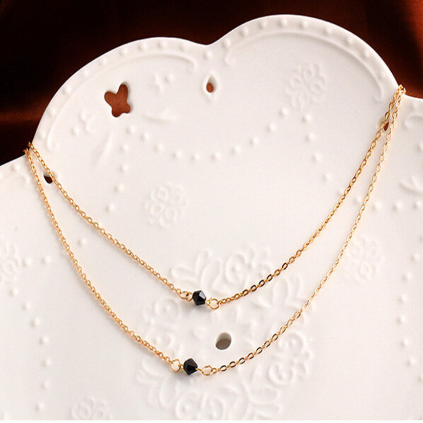 Women Multilayer Irregular Pendant Chain Statement Necklace Delicate Gift Fashion Jewelry