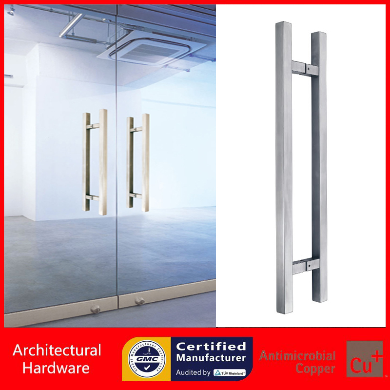 304 Stainless Steel Pull Handle Entrance Door Handles For Entry