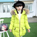 Big girls down jacket winter Korean children's clothing children down jacket Girls Long Jacket