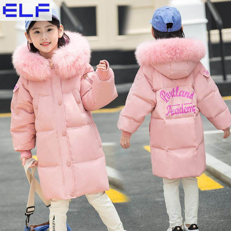 Kids Parkas Hooded Coat children's Winter jackets Warm duck Down For Girl clothes Children Outerwear Thick Overcoat enfant kids parkas hooded coat children s winter jackets warm duck down for girl clothes children outerwear thick overcoat enfant
