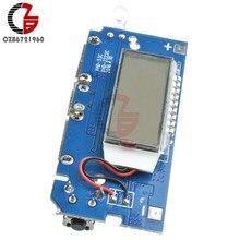Двойной USB 18650 литиевая батарея зарядная плата мобильный Банк питания зарядный модуль PCB плата ЖК-дисплей для Arduino DIY 5V 1A 2.1A