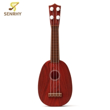 4 String Plastic Classical Guitar Ukulele Musical Instrument Kids Children Play Educational Toy Christmas Gift