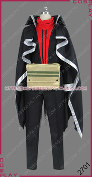 Altair: A Record of Battles Shoukoku no Altair Black Wing Kara Kanat Suleyman Outfit Cosplay Costume S002 image