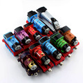 10pcs kids thomas and friends trains set railway diecast Magnetic voiture tomas train de trein track cars truck toys for boys