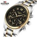 High Quality Original GUANQIN Men Watch Top Brand Luxury Tag Watch Men's Shockproof Waterproof Stainless Steel Watch Men Clock