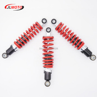 250mm 2pcs Front 1pc Rear Suspensions Shock Absorber Fit For 110 125cc Kids Mini Atv Quad