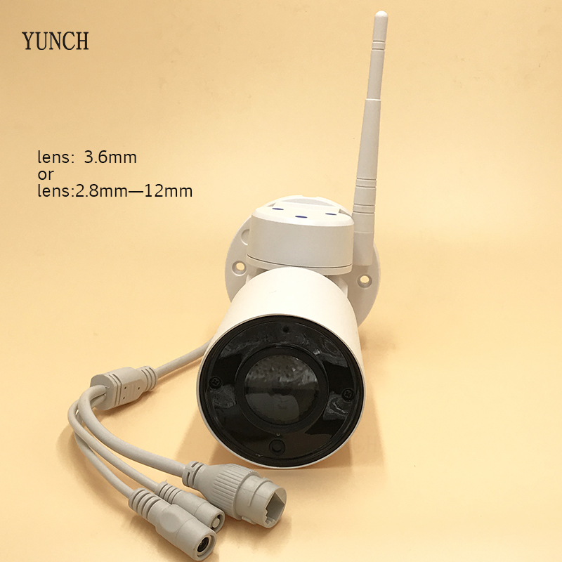 YUNCH Mini PTZ IP Camera outdoor 960P/1080P 4X optical zoom IR SD Card slot onvif P2P Network cctv security Camera with Audio