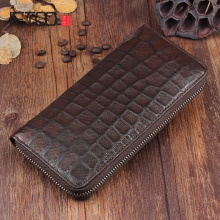 цены на AETOO Handmade wallets retro male long paragraph leather fold sheepskin handbag zipper long zipper casual Vintage wallet  в интернет-магазинах