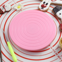 14cm DIY Rotating Cake Turntable Revolving Decorating Stand Platform Tool Cookie Biscuits