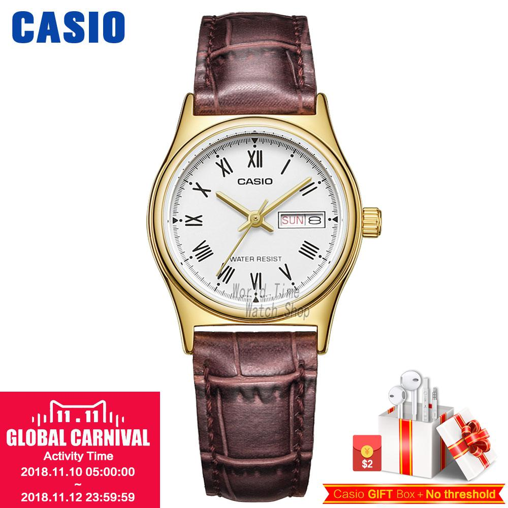 Casio watch Simple fashion sports comfortable student watch LTP-V002D-7A LTP-V006D-1B LTP-V006D-2B LTP-V006D-4B LTP-V006D-7B casio ltp 1128a 7b
