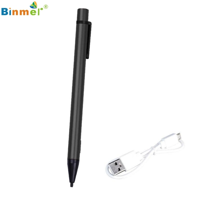 Adroit Screen New Touch Pen Stylus With USB Charging Wire Convenient For iPad 2 3 4 mini 11S61013 drop shipping