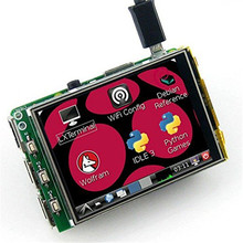 Buy online WeiKedz 3.2 Inch TFT LCD Display Module Touch Screen For Raspberry Pi B+ B A+ Raspberry pi 3