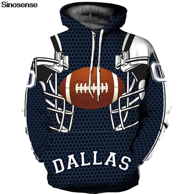 New Autumn Winter Dallas Cowboy 3d Hoodie Hoodies Men Women Long