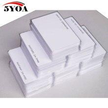 100pcs 5YOA EM4100 125khz ID Keyfob RFID Tag Tags llaveros llavero Porta Chave Card Sticker Key Fob Token Ring Proximity Chip