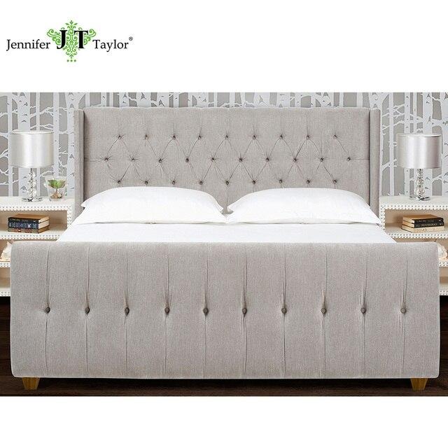 Jennifer Taylor Hogar, tapizados cama, Rey, terciopelo, mano ...