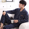 2016 autumn brand homewear couples causal pajama sets men polar fleece sleepwear suit male round collar shirts + pants