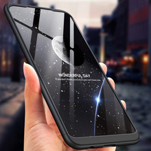 360 Degree Full Protection Hard Case For Huawei Nova 3i Nova3i Back Cover shockproof case + glass Film