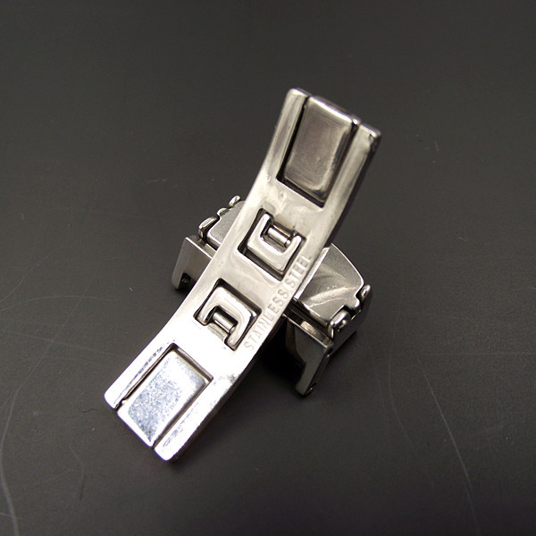 1PCS 16MM 18MM 20MM 22MM electroplating Stainless steel watch buckle for watch strap silver color -01202 стоимость