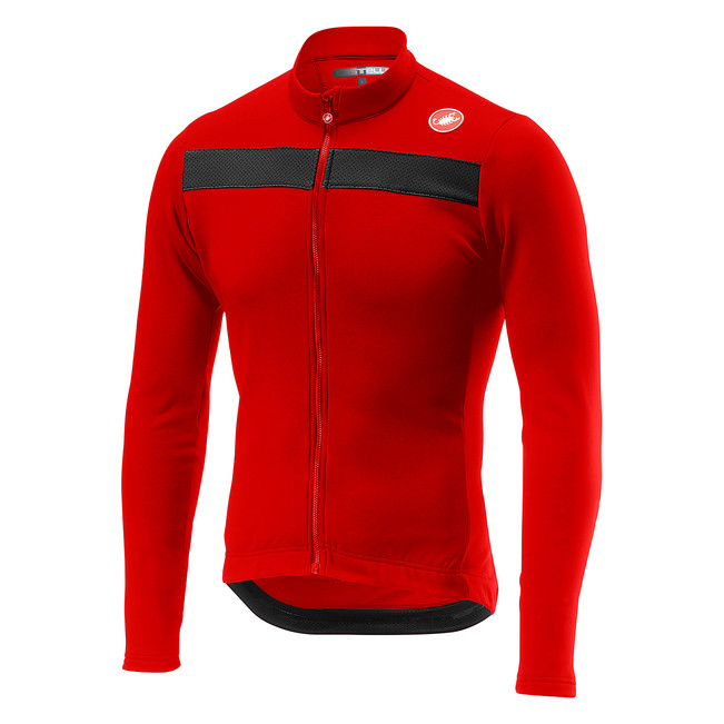 2018 new thermal fleece long sleeve cycling JERSEY super warmer and breathable fabric classic cut top quality with Reflective buttoned closure back cut and sew cap sleeve top