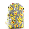 Cartoon Canvas Pokemon Backpack New Fashion Rucksack Backpack School Bag Cute Pikachu Printing BP0078