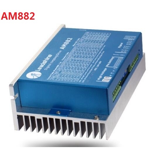 Leadshine AM882 Stepper Motor Driver with Sensorless Detection Up to 80VDC / 8.2A / 512 microstep leadshine am882 stepper drive stepping motor driver 80v 8 2a with sensorless detection