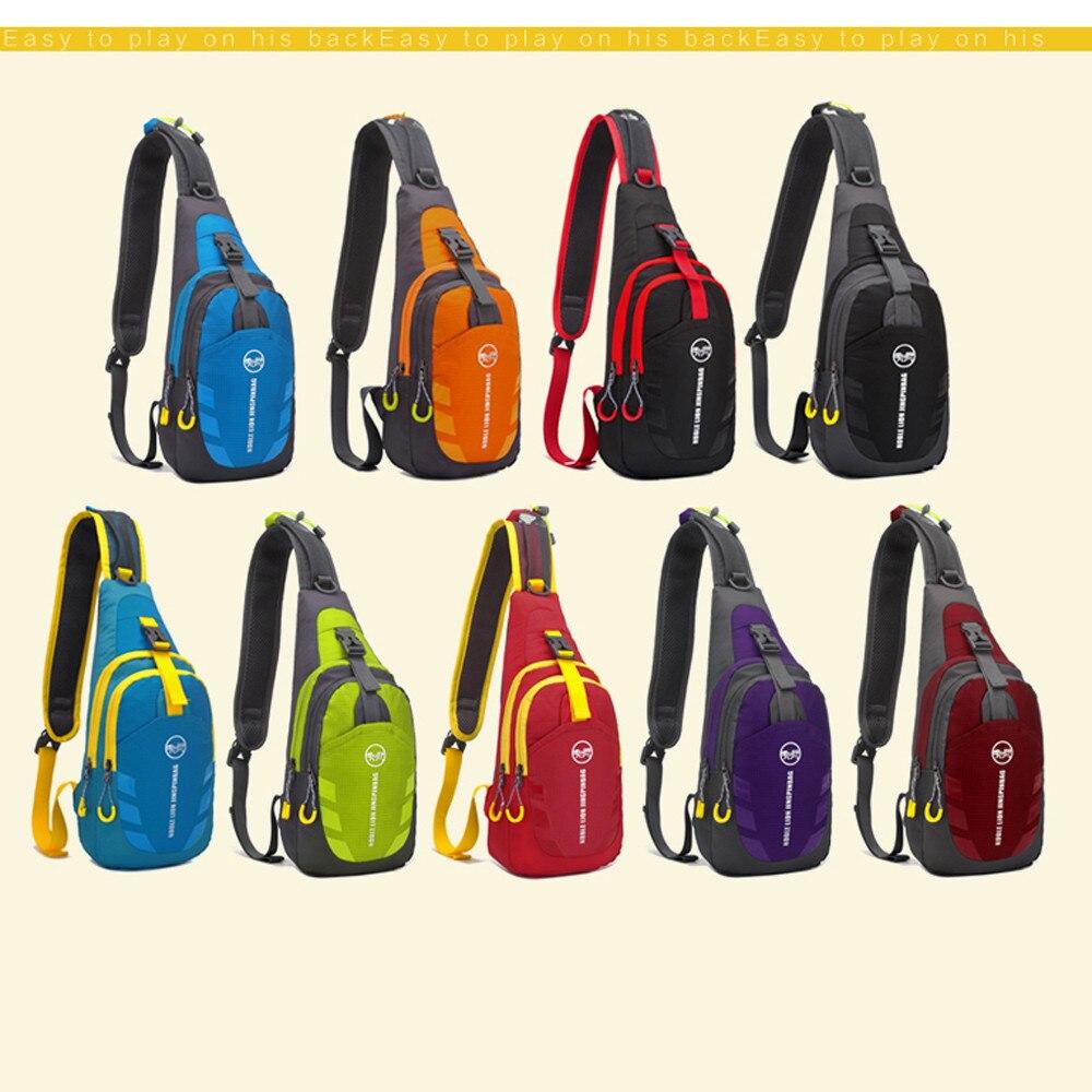 Fashion Unisex Oxford Hit Color Men Travel Bags Oxford Shoulder Bag Chest Crossbody Money Belt Men Messenger Bags Handbags