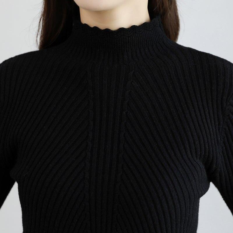 Inverno O Donne A Vestiti Maniche Pannello Modo Del Alta Black Vita Maglione 2018 Lavorato Pezzi Esterno Di Set Lunghe Autunno Sottile Top Due Maglia 5F0Ux6qBqw