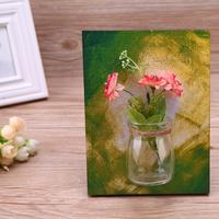 Wall Mounted Glass Flower Pot Hydroponic Vase Plant Container Home Decor Wall Wedding Party Decoration Multiple