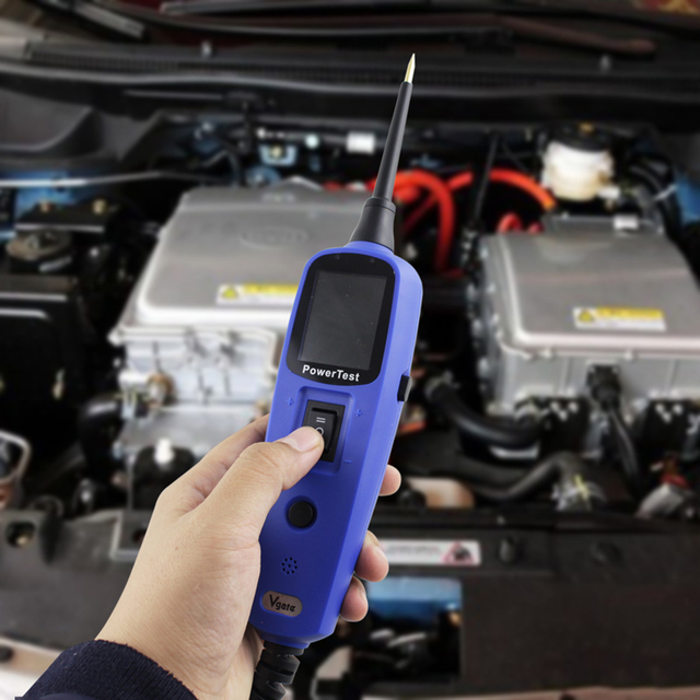 Vgate PT150 Power Probe Car Electric Circuit Tester Automotive Tools Auto Voltage Electrical System Tester