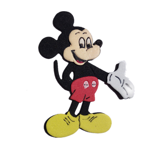 2017 Mickey Mouse Metal Cutting Dies Stencils For Diy Scrapbooking