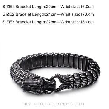 Animal Dragon Head Charm Bracelet 1