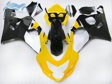Upgrade ihre Verkleidung kits für SUZUKI 2004 2005 GSXR 600 R750 sport verkleidungen kit 04 05 GSXR750 GSXR600 K4 K5 gelb schwarz ZT36