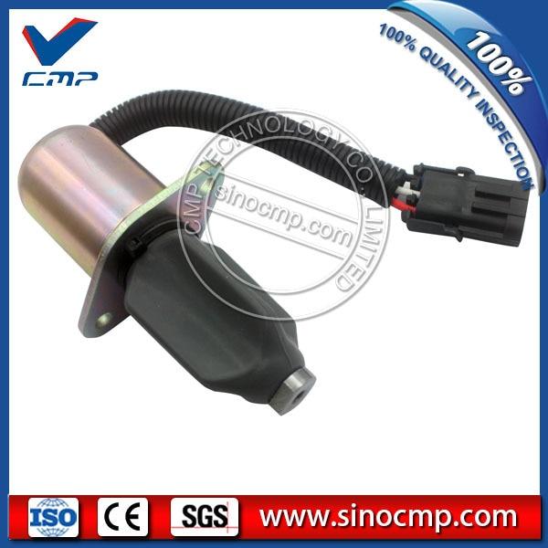 3934171 flameout solenoid valve for cummins excavator