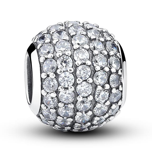 Pandora Style Dazzling Charm Beads
