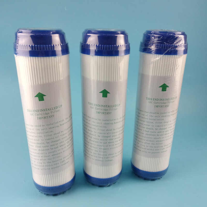 GAC Quick Connection Integrated Descaling Filter Integrated Descaling Filter Water Purifier Compressed Carbon Filter