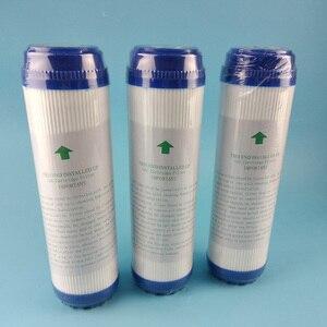 Image 2 - Filtro de água ativado gac para substituição, 3 peças, 10 polegadas, bloco de carbono ativado, purificador de substituição, cartucho de água, purificador de água, substituição udf