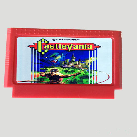 Top Quality Game Cartridge 60 Pins 8 Bit Integrated Game Card Better Than Bean Card — Castlevania